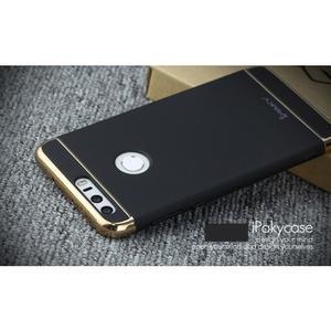 Luxusní odolný obal 3v1 na mobil Honor 8 - černý - 3