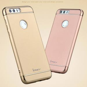 Luxusní odolný obal 3v1 na mobil Honor 8 - zlatý - 3