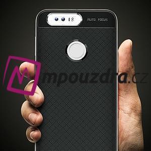 Odolný obal 2v1 na mobil Honor 8 - stříbrný - 3
