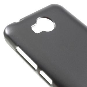 Luxusní gelový obal na mobil Huawei Y3 II - šedá - 3