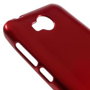 Luxusní gelový obal na mobil Huawei Y3 II - červený - 3
