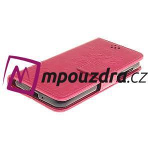 Dandelion PU kožené pouzdro na mobil Huawei Y3 II - rose - 3