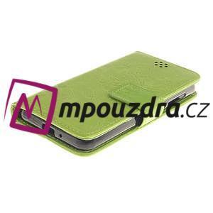 Dandelion PU kožené pouzdro na mobil Huawei Y3 II - zelené - 3