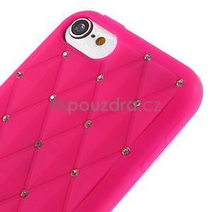 Brite silikonový obal s kamínky iPod Touch 6 / Touch 5 - rose - 3