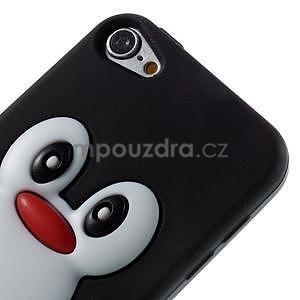 Penguin silikonový obal na iPod Touch 6 / iPod Touch 5 - černý - 3