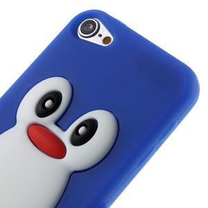 Penguin silikonový obal na iPod Touch 6 / iPod Touch 5 - tmavě modrý - 3