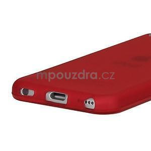 Matte gelový obal na iPod Touch 5 a iPod Touch 6 - červený - 3