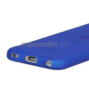 Matte gelový obal na iPod Touch 5 a iPod Touch 6 - tmavě modrý - 3