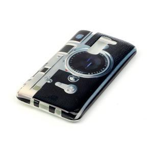 Emotive gelový obal na mobil LG K8 - retro foťák - 3