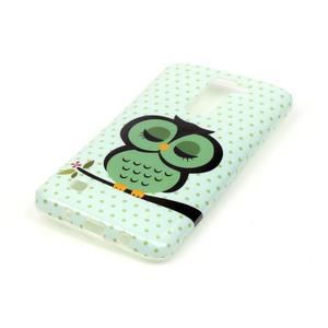 Emotive gelový obal na mobil LG K8 - sova - 3