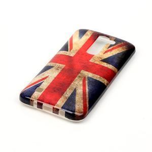 Emotive gelový obal na mobil LG K8 - UK vlajka - 3