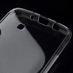 S-line gelový obal na LG K8 - transparentní - 3