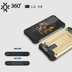 Armory odolný obal na mobil LG K8 - zlatý - 3