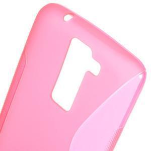 S-line gelový obal na LG K8 - rose - 3