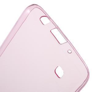 Ultratenký gelový obal na mobil LG K8 - růžový - 3