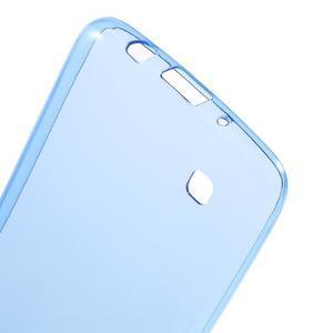 Ultratenký gelový obal na mobil LG K8 - modrý - 3