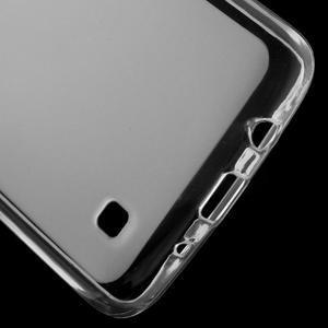 Matný gelový obal na mobil LG K8 - transparentní - 3