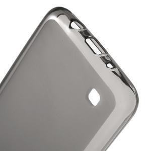 Matný gelový obal na mobil LG K8 - šedý - 3