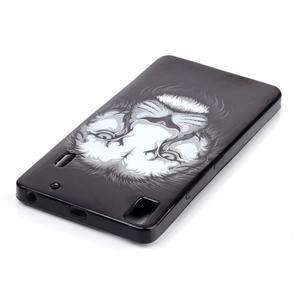 Gelový obal na mobil Lenovo A7000 / K3 Note - lev - 3