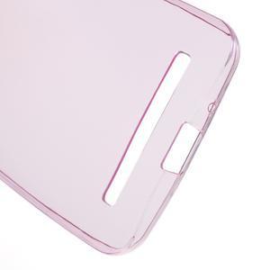 Ultra tenký slim gelový obal na Asus Zenfone 2 ZE500CL - rose - 3