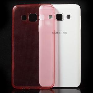 Slim obal na Samsung Galaxy A3 - červené - 3