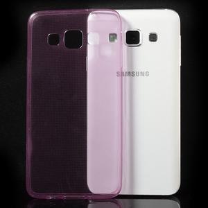 Slim obal na Samsung Galaxy A3 - růžové - 3