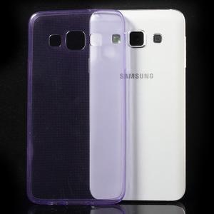 Slim obal na Samsung Galaxy A3 - fialové - 3