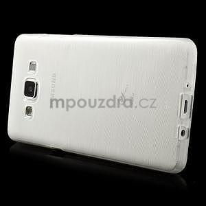 Broušený gelový obal Samsung Galaxy A5 - bílý - 3