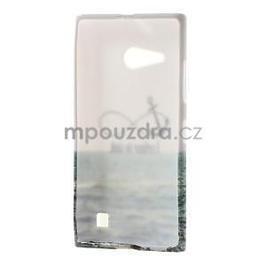 Gelové pouzdro na Nokia Lumia 730 a Lumia 735 - kotva - 3