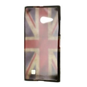 Gelové pouzdro na Nokia Lumia 730 a Lumia 735 - UK vlajka - 3