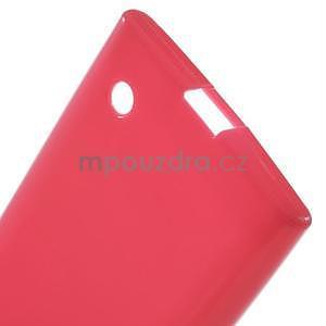 Gelový obal na Nokia Lumia 730 a Lumia 735 - rose - 3