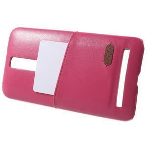 Rose PU kožený/plastový kryt na Asus Zenfone 2 ZE551ML - 3