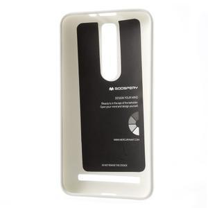 Gelový obal na Asus Zenfone 2 ZE551ML - bílý - 3