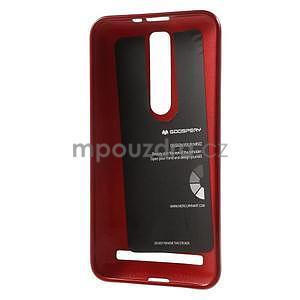 Gelový obal na Asus Zenfone 2 ZE551ML -  tmavě červený - 3