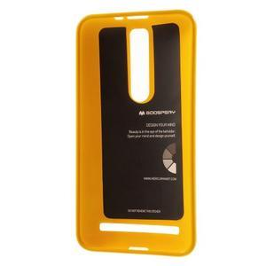 Gelový obal na Asus Zenfone 2 ZE551ML - žlutý - 3