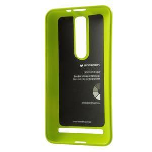 Gelový obal na Asus Zenfone 2 ZE551ML - zelený - 3