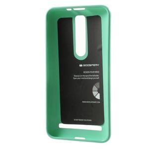 Gelový obal na Asus Zenfone 2 ZE551ML - azurový - 3