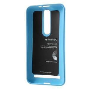 Gelový obal na Asus Zenfone 2 ZE551ML - světle modrý - 3