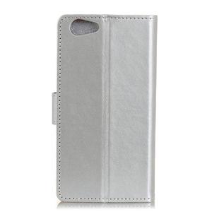 Wall peněženkové pouzdro na HTC Desire 12 - stříbrné - 3