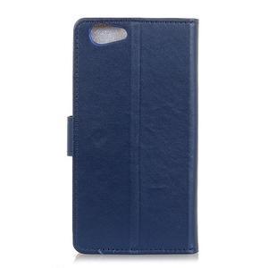 Wall peněženkové pouzdro na HTC Desire 12 - modré - 3