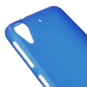 Matný gelový obal na mobil HTC Desire 530 a Desire 630 - modrý - 3