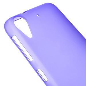 Matný gelový obal na mobil HTC Desire 530 a Desire 630 - fialový - 3