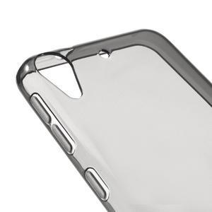 Šedý ultratenký gelový obal na HTC Desire 530 a Desire 630 - 3