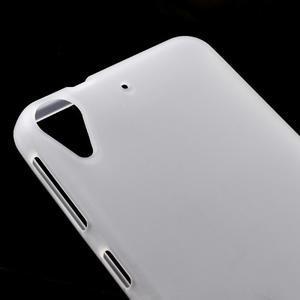 Matný gelový obal na mobil HTC Desire 530 a Desire 630 - transparentní - 3