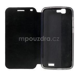 Klopové pouzdro na Huawei Ascend G7 - černé - 3