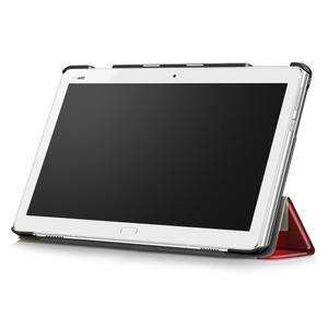 Emotive polohovatelné pouzdro na Huawei MediaPad M3 Lite 10 - barevné čtverečky - 3
