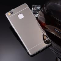 Zrcadlový gelový obal na Huawei P9 Lite - černý - 3/3