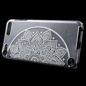 Plastový obal pro iPod Touch 5 - půlkruh mandala - 3