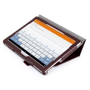 Safe PU kožené pouzdro na Lenovo Tab 3 10 Plus / Business - černé - 3