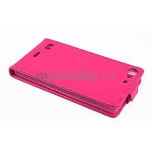 Flipové pouzdro na mobil Lenovo Vibe X2 - rose - 3